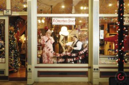 Ralphie Christmas Story Window - Eureka Springs, Arkansas Photography