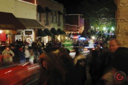 A Night Parade on Spring Street - Eureka Springs, Arkansas Photography