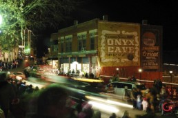 A Night Parade on Spring Street - Eureka Springs, Arkansas Photography