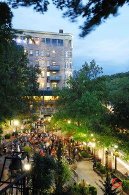 Basin Spring Park Gathering - Eureka Springs, Arkansas Photography
