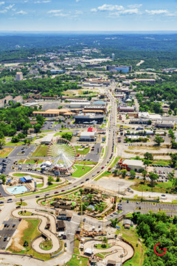 Daytime Aerial Photography of Branson, Missouri