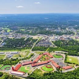 Daytime Aerial Photography of Branson, Missouri