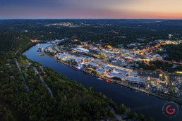 Aerial Photography of Branson, Missouri