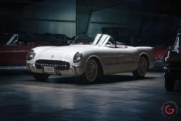 1st Gen 1953 Corvette -Evergreen Classic Automobiles / Dogwood Room - Professional Car Photographer, Automotive Photography