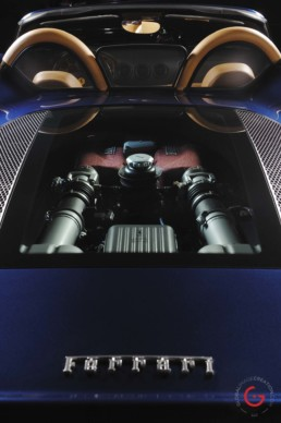 Ferrari Engine Detail - Professional Car Photographer, Automotive Photography