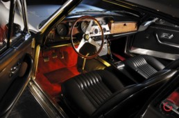 Classic Ferrari Interior View - Professional Car Photographer, Automotive Photography