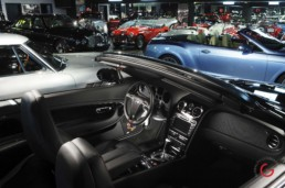 Bentley Convertible Interior View - Professional Car Photographer, Automotive Photography