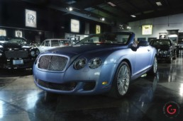 Bentley Convertible Front 3/4 View - Professional Car Photographer, Automotive Photography