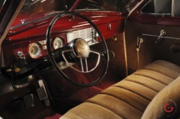 Packard Interior Detail - Classic Cars Professional Car Photographer, Automotive Photography