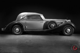 Full Side View - Horch Barn Find, Branson Classic Car Auction - Professional Car Photographer, Automotive Photography