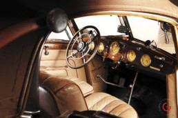 Interior Detail - Horch Barn Find, Branson Classic Car Auction - Professional Car Photographer, Automotive Photography