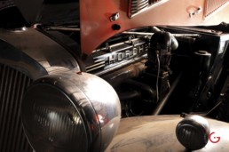 Engine Detail - Horch Barn Find, Branson Classic Car Auction - Professional Car Photographer, Automotive Photography