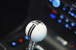 Shelby GT 500 Shifter Detail - Classic Cars Professional Car Photographer, Automotive Photography
