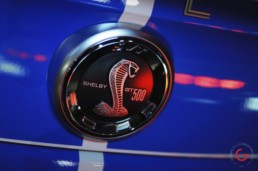 Shelby GT 500 Emblem Detail - Classic Cars Professional Car Photographer, Automotive Photography