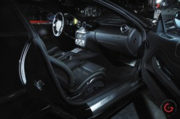 Ferrari Black Interior View - Supercars Professional Car Photographer, Automotive Photography