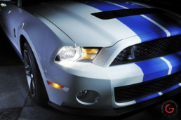 GT 500 Front End Detail - Professional Car Photographer, Automotive Photography