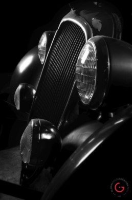 Classic Delahaye Front End Detail - Professional Car Photographer, Automotive Photography