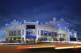 The music city center at twilight on the Branson strip, hwy 76, country music blvd. - Advertising photographers in Branson Missouri, Branson Missouri photography