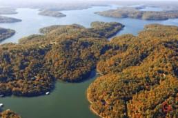 Aerial View of Table Rock Lake - Advertising photographers in Branson Missouri, Branson Missouri photography