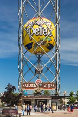 Parakeet Pete's Steampunk Balloon - Advertising photographers in Branson Missouri, Branson Missouri photography
