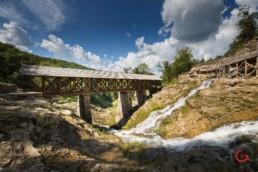 A Covered Bridge at Big Cedar Lodge - Advertising photographers in Branson Missouri, Branson Missouri photography