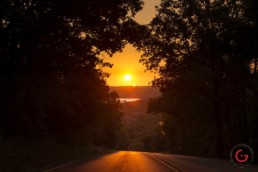 Sunset Near Big Cedar Lodge - Advertising photographers in Branson Missouri, Branson Missouri photography