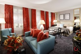 Baur au Lac Suite interior - Hotel Room Photography
