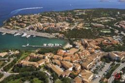 Porto Cervo Aerial View, Costa Smeralda, Italy - Professional Architecture Photographer and Commercial Photography of Buildings