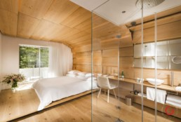Kengo Kuma room at 7132 House of Architects - Professional Architecture Photographer and Commercial Photography of Buildings