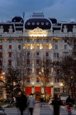 Hotel Gallia, Milan, Italy - Professional Architecture Photographer and Commercial Photography of Buildings