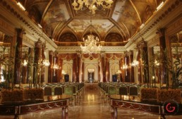 Ritz Ballroom - St Regis Hotel, Rome - Professional Architecture Photographer and Commercial Photography of Buildings