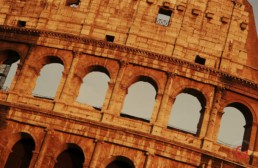 The Colosseum at Late Day Rome, Italy - Travel Photographer of Italy Photoshoots, Italy Photography