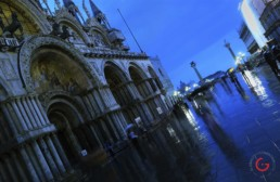 The Rain in San Marco Square, Venice, Italy - Travel Photographer of Italy Photoshoots, Italy Photography
