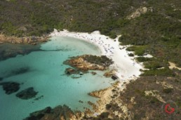 Aerial Photography of Beach in Sardinia, Italy - Travel Photographer of Italy Photoshoots, Italy Photography