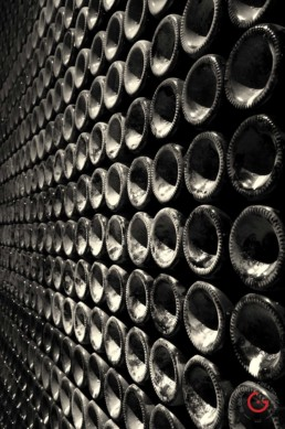Wall of Wine at Ka Del Bosco Winery in Milan, Italy - Travel Photographer of Italy Photoshoots, Italy Photography