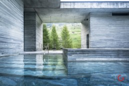 Pritzker Prize Award Winning Therme in Vals, Switzerland