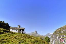 Church near Zervreilasee, Vals, Switzerland - Travel Photographer and Switzerland Photography