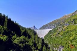 The Dam at Zervreilasee, Vals, Switzerland - Travel Photographer and Switzerland Photography