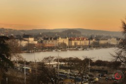 Opera House and Lake Zurich at Sunset - Travel Photographer and Switzerland Photography