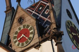 Swiss clock tower - Travel Photographer and Switzerland Photography