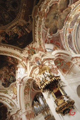 Inside Swiss Cathedral - Travel Photographer and Switzerland Photography