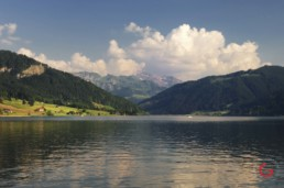 A Swiss Lake and Clouds - Travel Photographer and Switzerland Photography