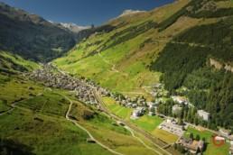 Vals, Switzerland Aerial View - Travel Photographer and Switzerland Photography