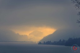 Cloudy Swiss Sunset - Travel Photographer and Switzerland Photography