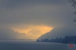 Cloudy Swiss Sunset - Travel Photographer and Switzerland Photography