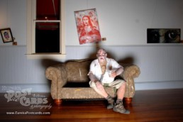 Zombie Art Show Invades Eureka Springs, Arkansas in 2013