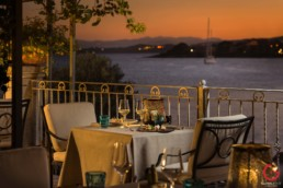 The View From Blu Restaurant at Gabbiano Azzurro Hotel & Suites
